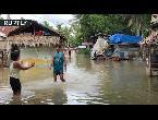 فيضانات عارمة تغمر إحدى البلدات في الفلبين بعد إعصار قوي