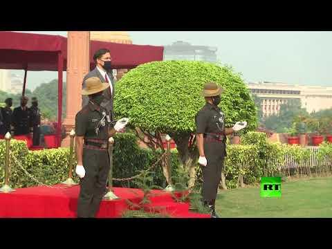 شاهد وزير الدفاع الأميركي يصل الهند ويوقع اتفاقًا عسكريًا