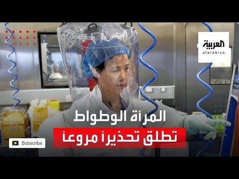 المرأة الوطواط تطلق تحذيرًا مروعًا عن فيروسات صينية جديدة