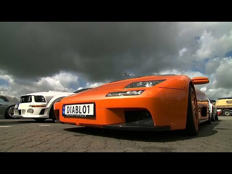 توقيف 120 سيارة رياضية شاركت في سباق غير مرخص بألمانيا