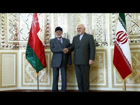 شاهد محادثات بين وزير الخارجية العُماني ونظيره الإيراني ظريف
