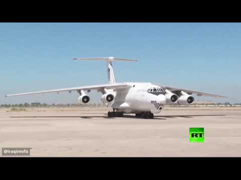 شاهد الإمارات تُرسل طائرة مساعدات طبية إلى العراق لدعم جهود مكافحة كورونا