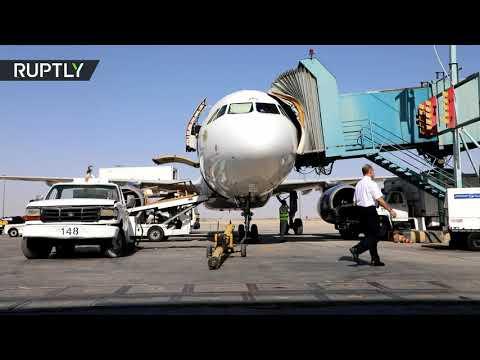 مطار دمشق الدولي يستأنف عمله بعد انقطاع دام نصف عام