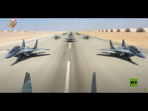 شاهد الجيش المصري يكشف عن أقوى المقاتلات في قواته الجوية