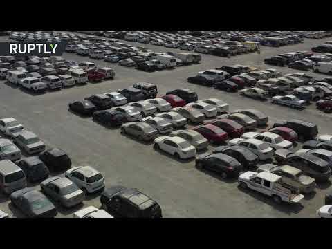 مئات السيارات الفارهة تنتظر ملاكها الجدد في دبي