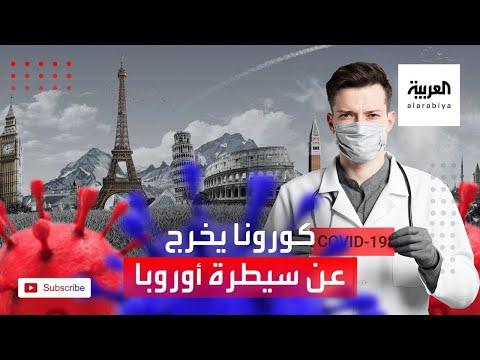 الوضع الوبائي في أوروبا بسبب فيروس كورونا يخرج عن السيطرة
