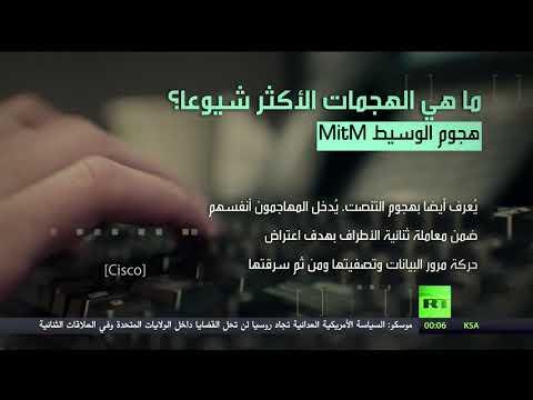 شاهد تعرّف على الهجمات الإلكترونية الأكثر شيوعًاض